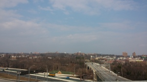 View East From Druid Hill Park