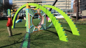 Light City Baltimore Installations By Day at The Inner Harbor