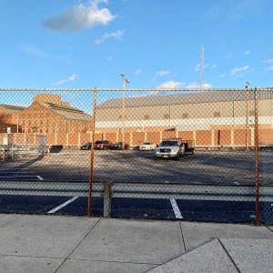 Parking Lot & Prisons at Fallsway & E. Centre
